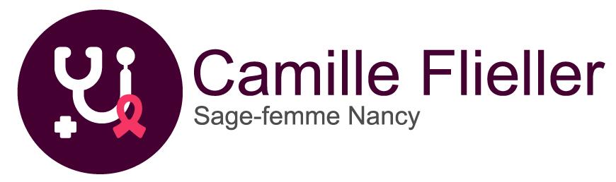 Camille Flieller | Sage femme Nancy - Réalisation 2019 - Logo - Matthieu Loigerot