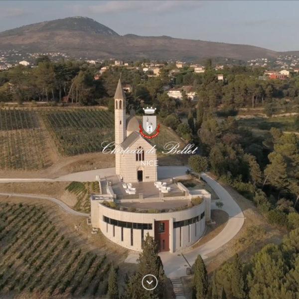 Château de Bellet |Nice - Webdesign - Matthieu Loigerot