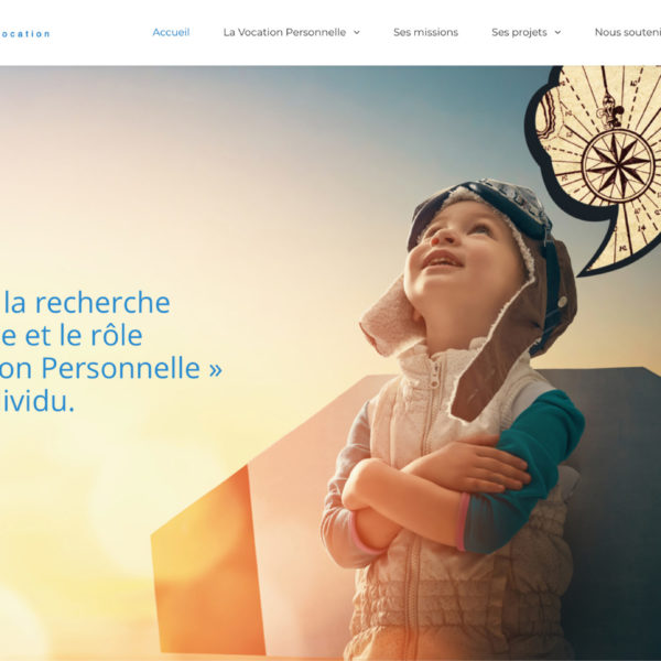 Cap Vocation - 2020 - Webdesign - Matthieu Loigerot