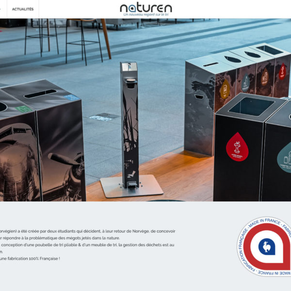 Naturen - 2020 - Webdesign - Matthieu Loigerot